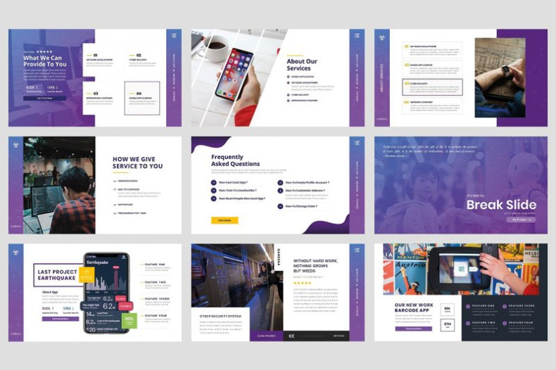 Business - Technology Google Slide