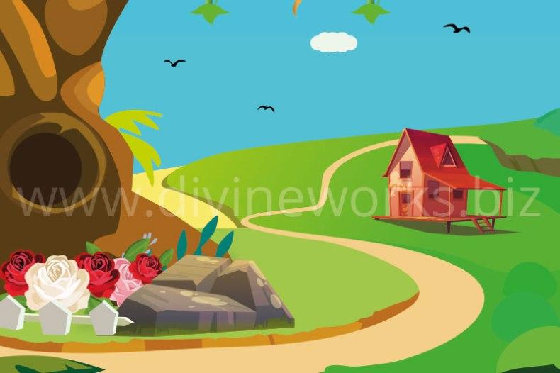 Download Free Adobe Illustrator Forest Vector Illustration by Divine Works