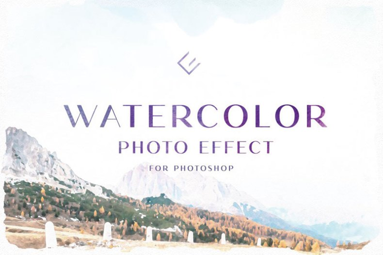 Watercolor Photo Effect