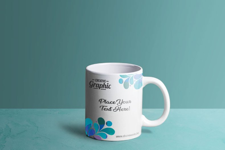 Download Free Mug PSD Mockup by Divine Works