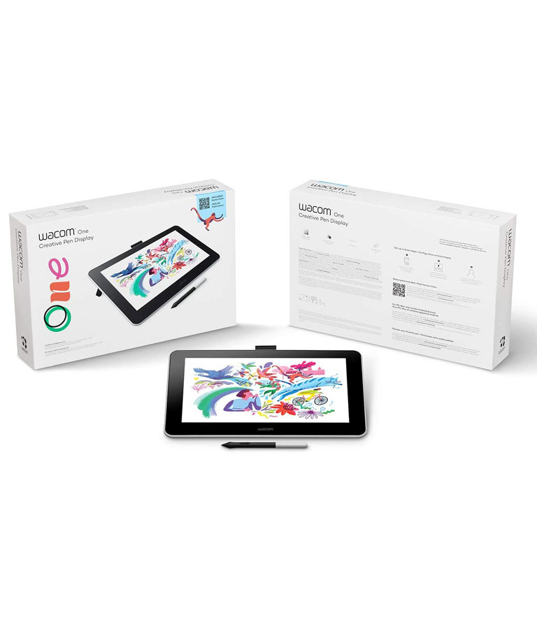 Wacom DTC133W0A One Digital Drawing Tablet