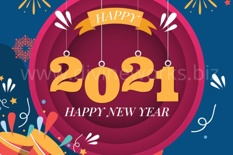 Download Free 2021 New Year Vector by Divine Works