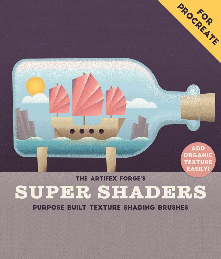 Super Shaders – Procreate Brushes