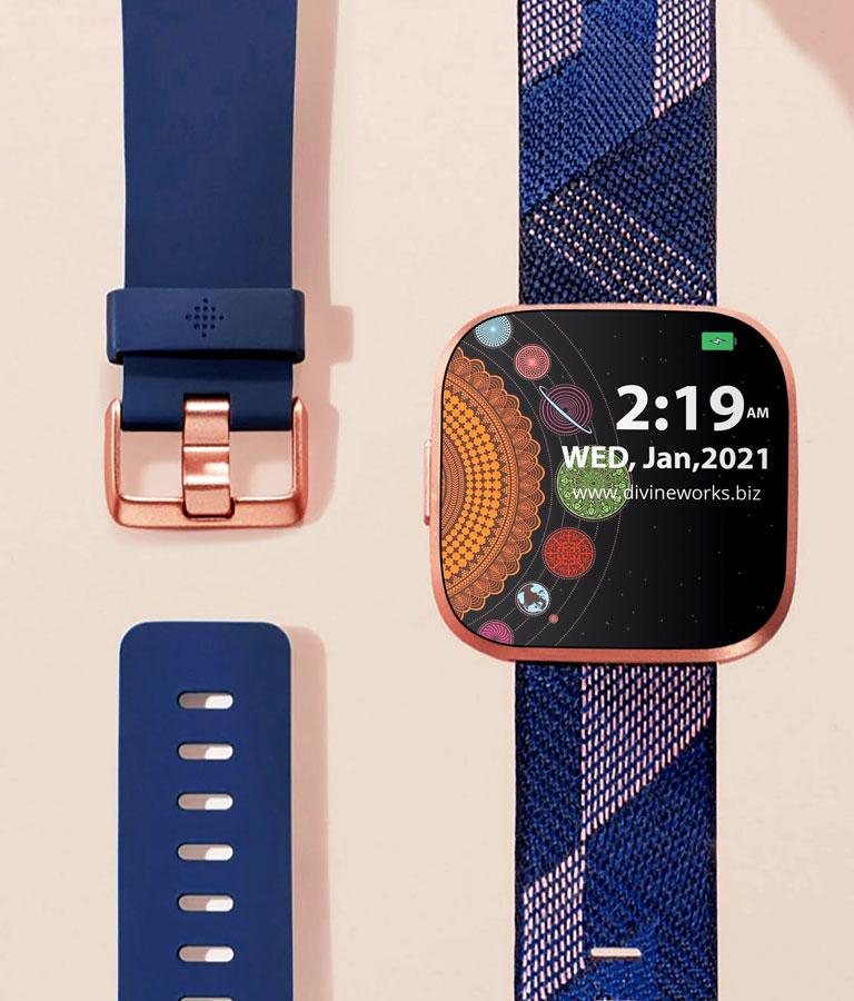 Fitbit Versa Smartwatch Mockup