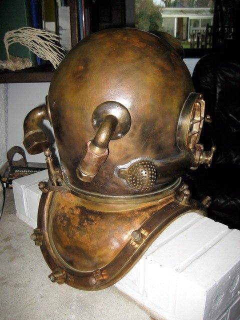 Usn Mk5 12 Bolt Diving Helmet