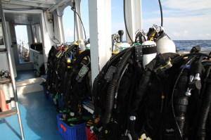 Tech Diving MV Giamani