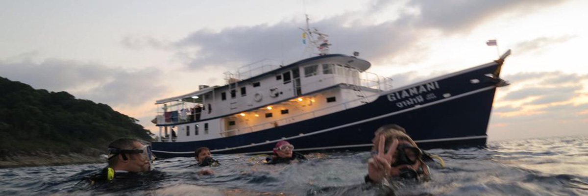 Thailand Liveaboard MV Giamani & Divers