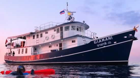 MV Giamani - A premier Thailand Liveaboard