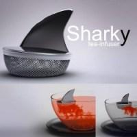Sharky Tea Infuser von Pablo Matteoda