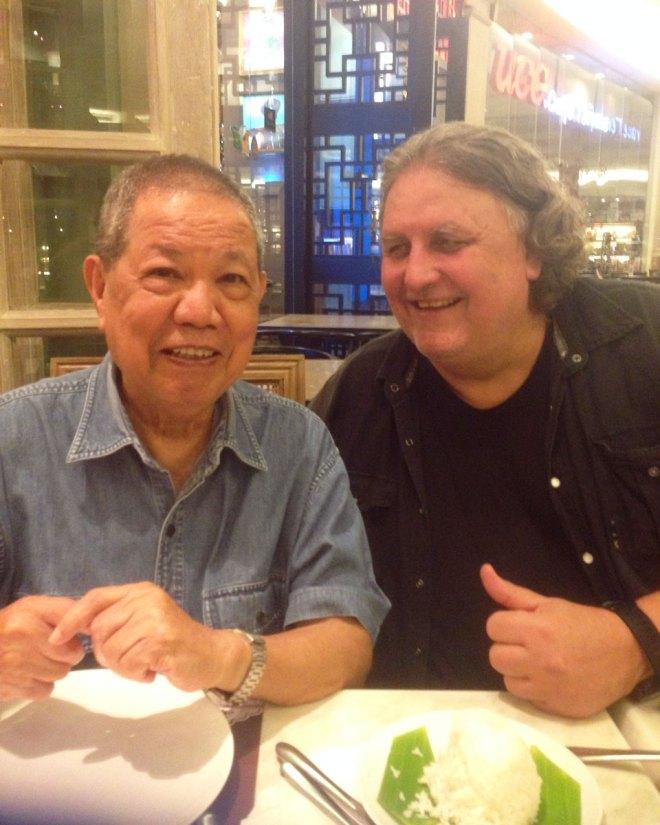 Manila / Philippinen - Treffen mit Castro