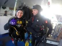 Divebuddies Sarah and Tony
