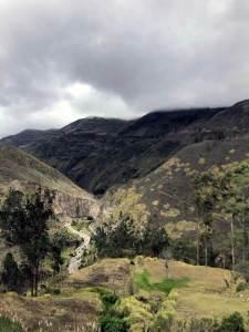 Zugfahrt durch Ecuadors Anden