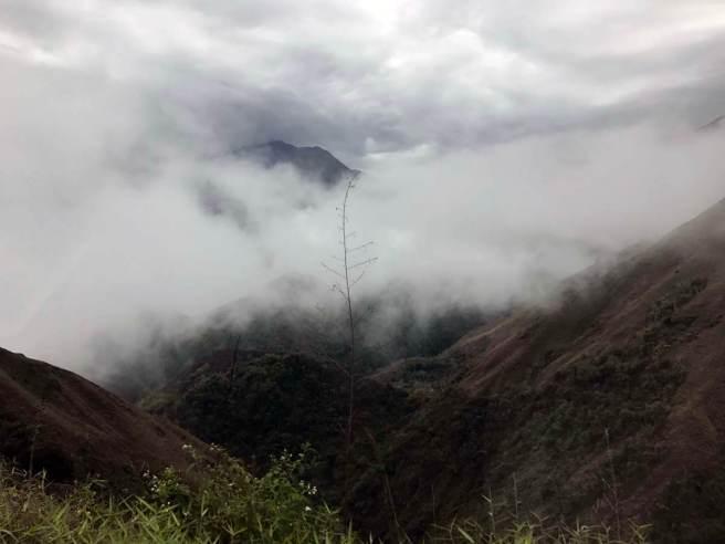 Je später der Tag wird, desto mehr Nebel!