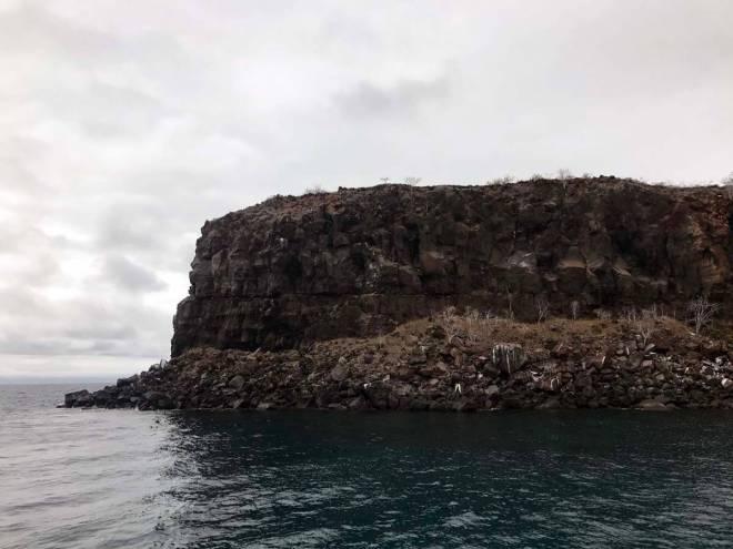 Ausfahrt aus dem Channel bei Itabaca