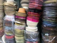 Panamahüte von Homero Ortega in allen Farben und Formen