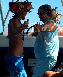 Polynesischer tanz