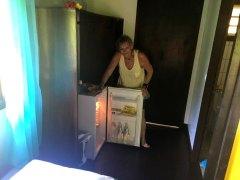 mit Kühlschrank
