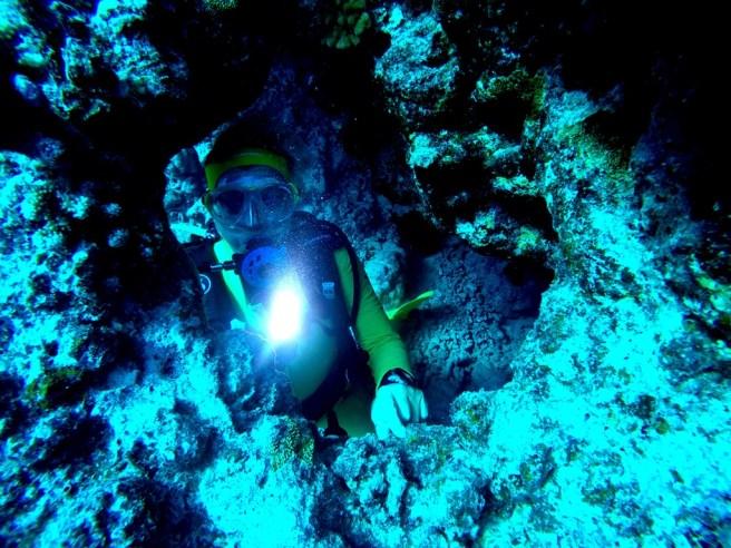 impression unter Wasser