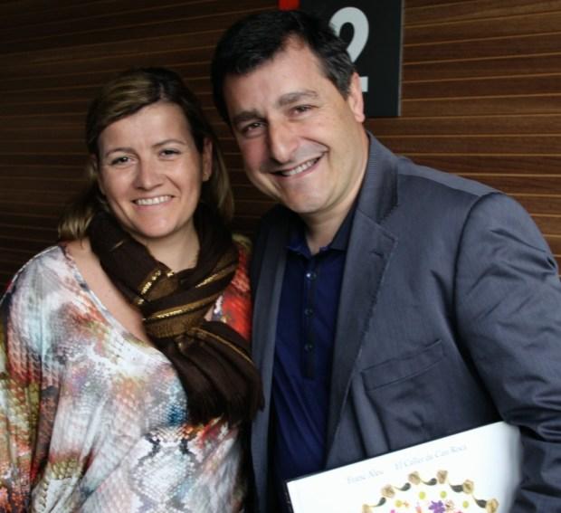Gema Santiago (Divinos Sabores) y Josep Roca