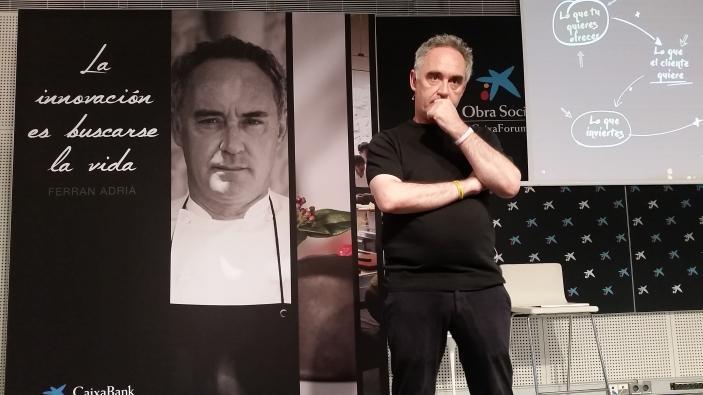 Ferran Adria-elbulliLab-CaixaBank-Divinos Sabores