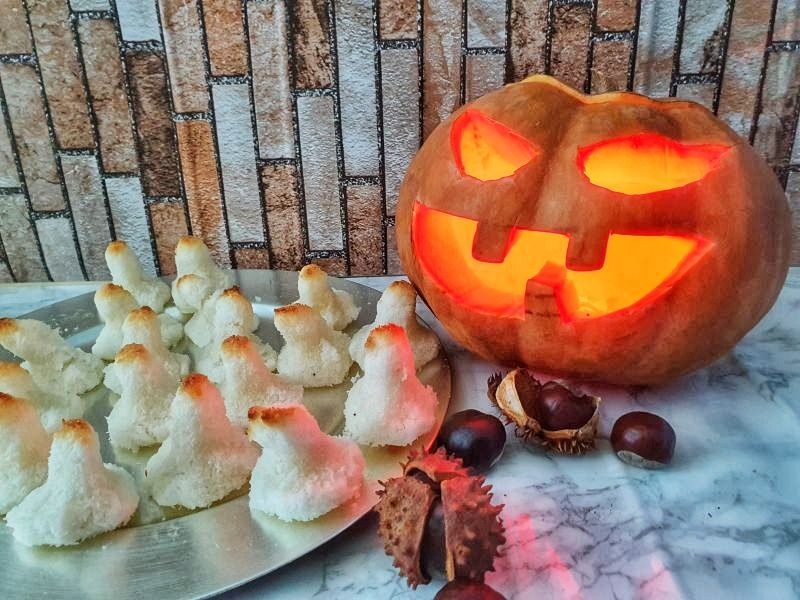 Ideas Halloween, panellets y calabaza