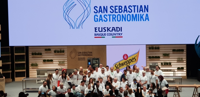 San Sebastián Gastronómika-Chefs-Arzak-Homenaje