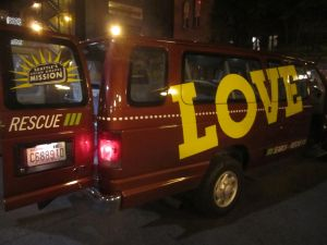 Union Gospel Mission's Search & Rescue Van