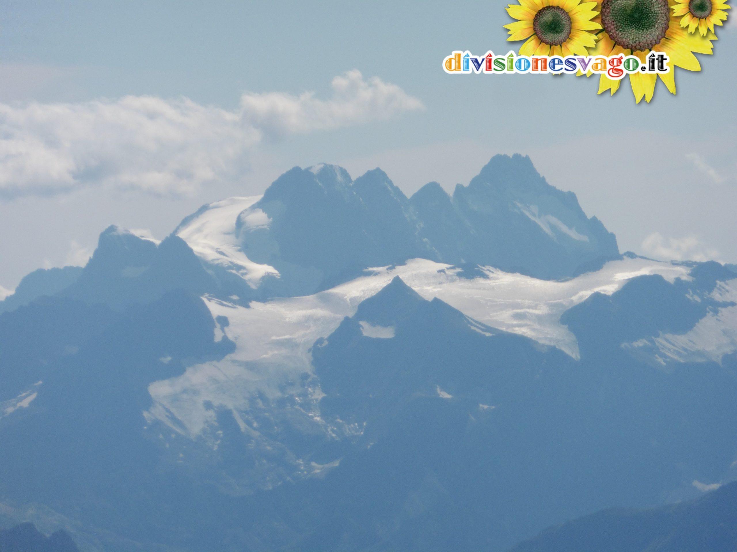 Monte Pelvoux, Pic Sans Nom, Pic du Coup de Sabre, Ailefroide Orientale, Ailefroide Centale, Ailefroide Occidentale
