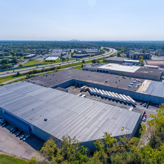 Warehouse reroofing Columbus, Ohio