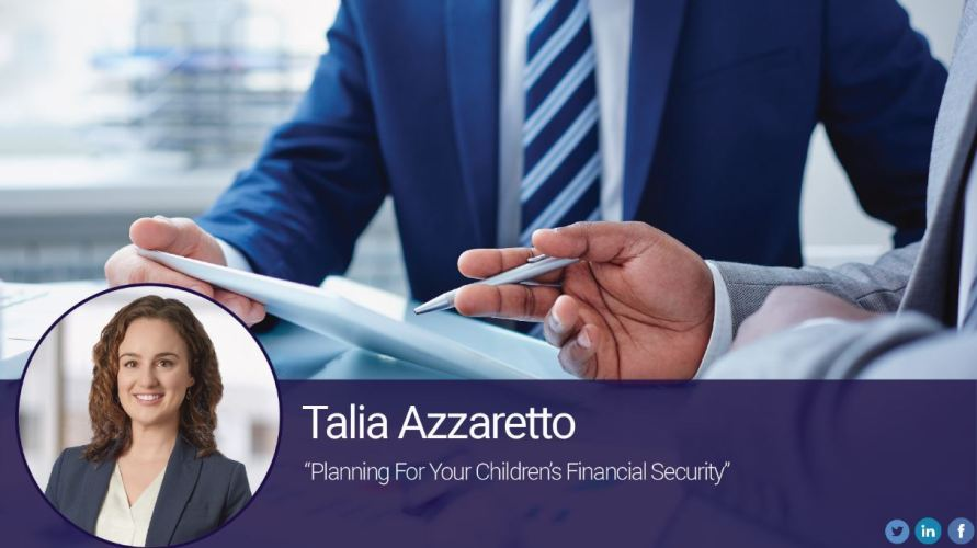 Planning for Your Children's Financial Security