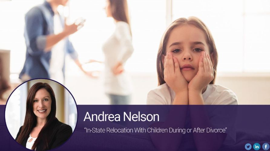In-State Relocation With Children During or After Divorce
