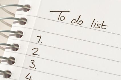 to do list estate plan