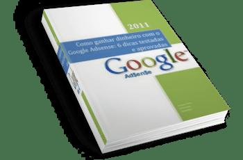 Ebook gratuito: Como Ganhar Dinheiro com o Google Adsense