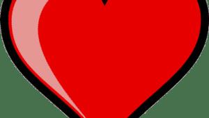 coração vermelho red heart