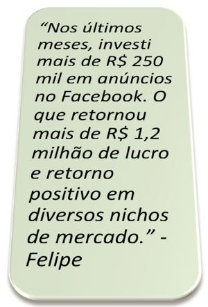 Facebook Ads Investimento Retorno do Afiliado Árbitro ROI positivo escalonado