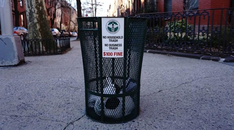 مسابقة تصميم سلة القمامة لمدينة نيويورك