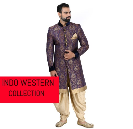 indo western collection for men