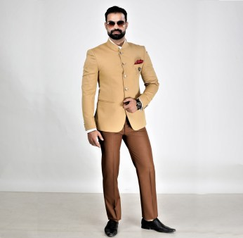 Bandhgala suit for men
