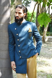 Anghrakha designer bandhgala for men