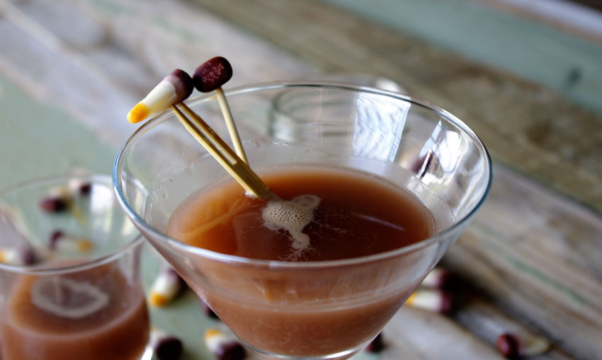 Candy Corn Infused Vodka
