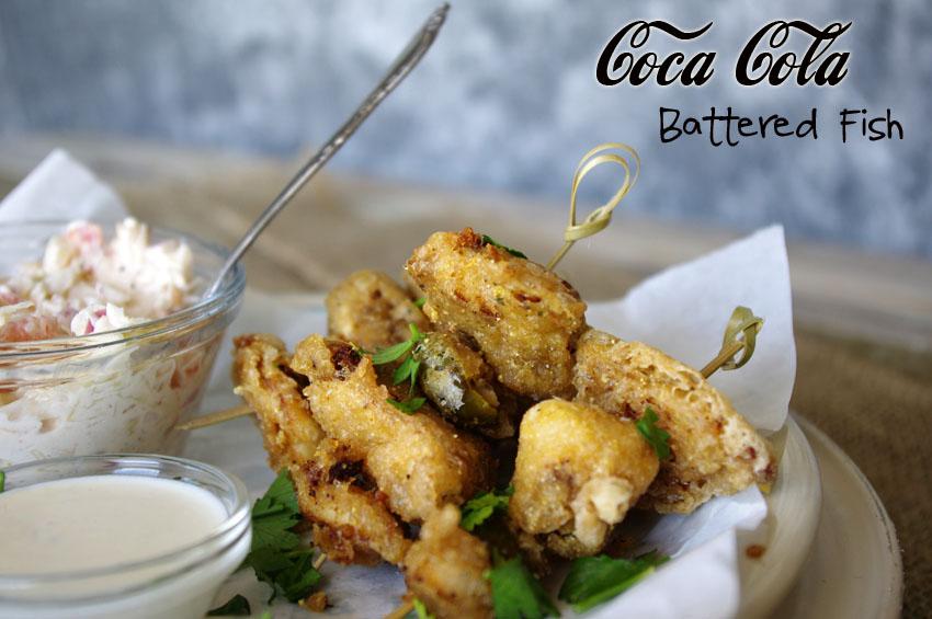 Coca Cola Battered Fish