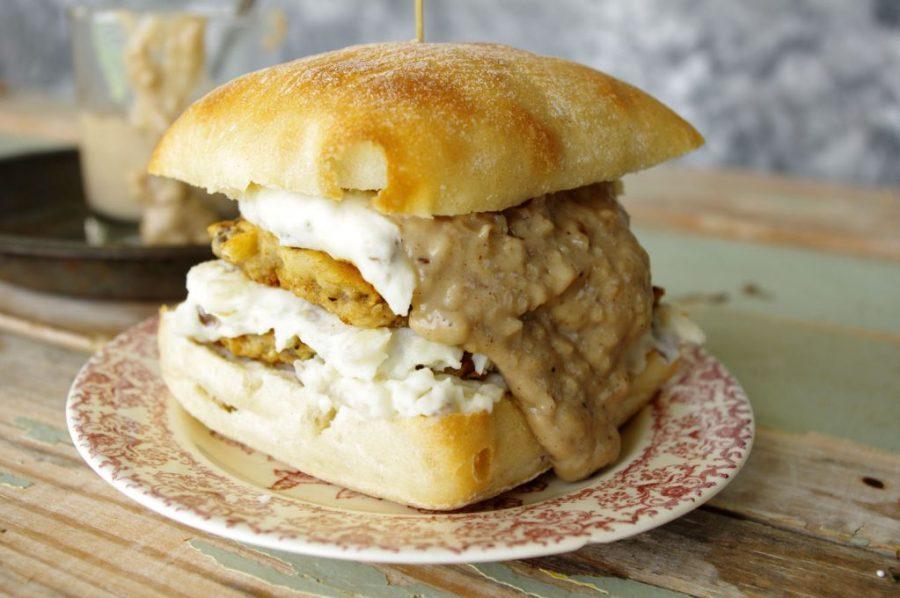 Country Fried Venison Slider   Dixie Chik Cooks