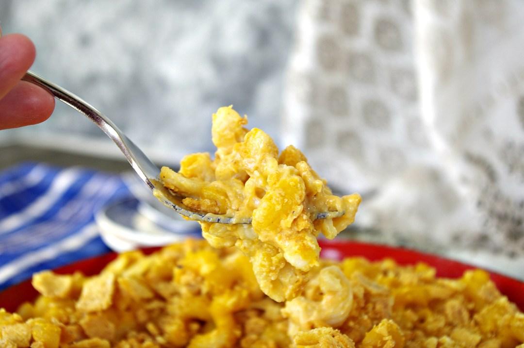 Three Cheese Pumpkin Chipotle Mac 'n Cheese | Dixie Chik Cooks