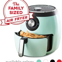 Dash Deluxe Electric Air Fryer + Oven Cooker with Temperature Control