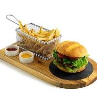 Yukon Glory Burger Serving Set