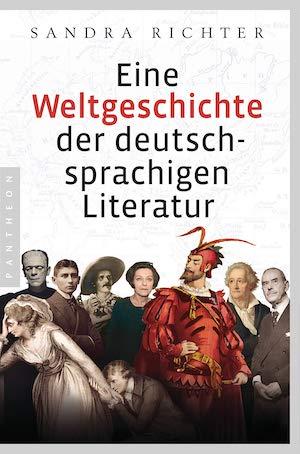Omslag till boken richter weltgeschichte deutschsprachigen literatur