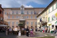 Påvepalatset i Castel Gandolfo