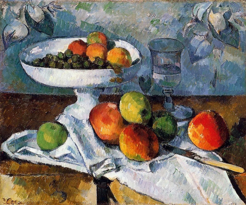Cezanne - Nature morte au compotier