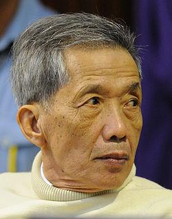 """Khang Khek Ieu, eller """"Duch"""", en av ledarna för Khmer rouge, dömd för mord och tortyr på 15 000 fångar"""