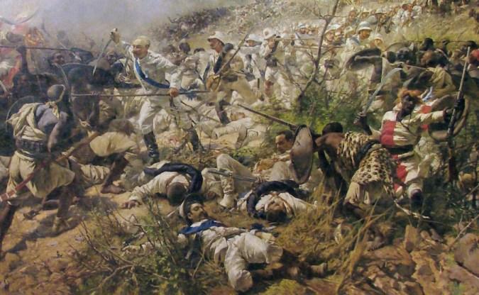 La battaglia di Dogali (beskuren)